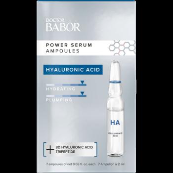 DOCTOR BABOR Hyaluronic Acid Ampoule - für sofortige Feuchtigkeit und Aufpolsterung