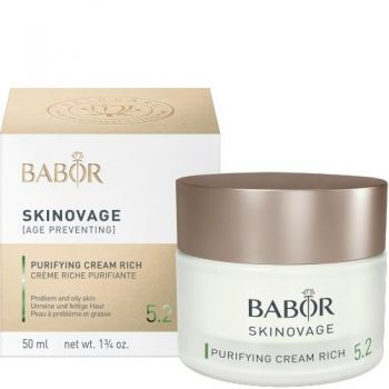 BABOR Purifying Cream Rich - für ölige, unreine Haut