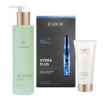 BABOR Home SPA Set Hydra (Hydration Hydra Plus, Gel&Tonic, Gentle Peeling)